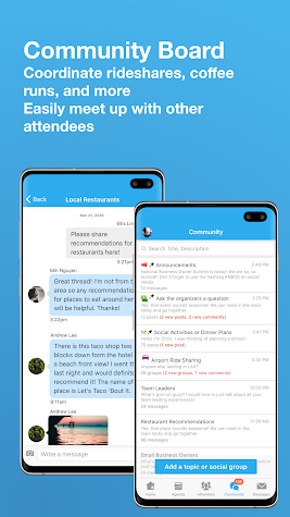Whova - Event & Conference App Screenshot