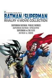 DCU Batman Superman Rivalry 4-Movie Collection