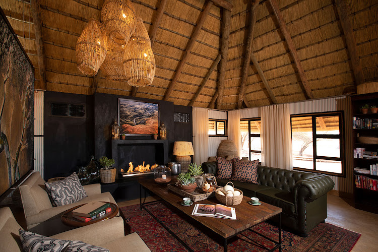 Kwessi Dune Lodge suites.