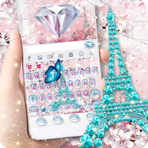 Girly Paris Keyboard - Girly theme Icon