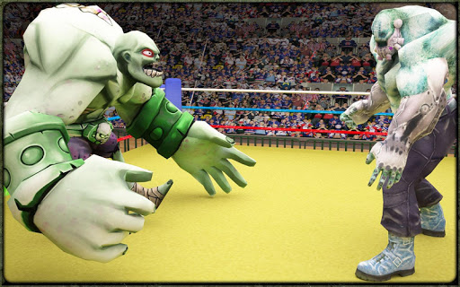 Incredible Monster Superheroes Ring Battle  screenshots 9