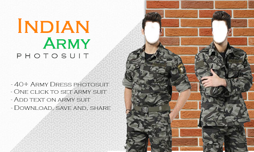 Indian Army Photo Suit