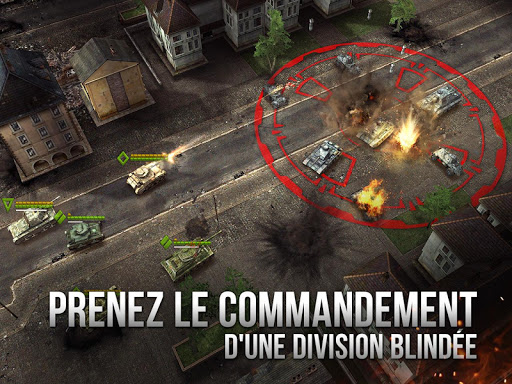 Armor Age: Tank Wars — WW2 Platoon Battle Tactics  captures d'écran 2