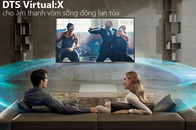 Công nghệ âm thanh vòm DTS trên Smart Tivi LG 4K 43 inch 43UK6340PTF