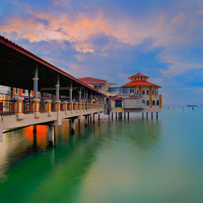 Church Pier at Penang Jetty by Adi Affendi - Buildings & Architecture Bridges & Suspended Structures