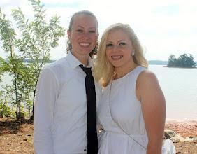 Photo: #LesbianWedding, #SameSexWedding #LakesideWedding #LakeHartwellWedding, #Elope,  #Elopement  #Elopement