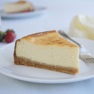 Basic Baked Cheesecake.