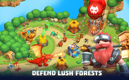Wild Sky TD: Tower Defense Legends in Sky Kingdom 1.29.6 updownapk 1