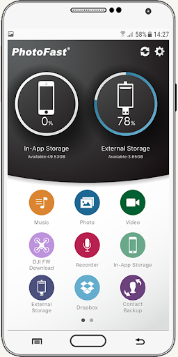 usb otg settings driver connect phone for android 3.6 Screenshots 4