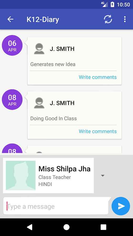 K12App- screenshot
