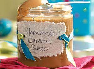Home-made carmel sauce