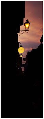 Lampioni al tramonto di DarkLady