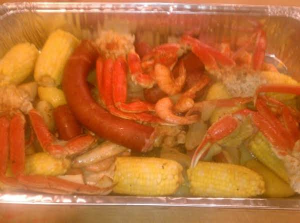 Seafood Feast Cancooker Style