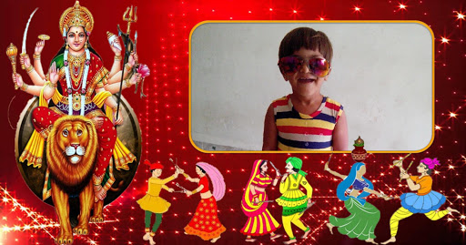 Navratri Photo Frame - 2015
