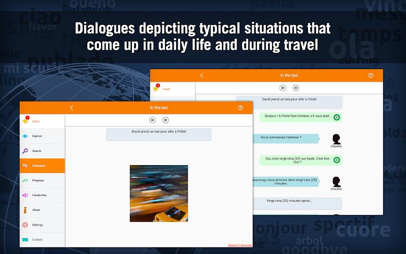 Learn French with MosaLingua Screenshot 7