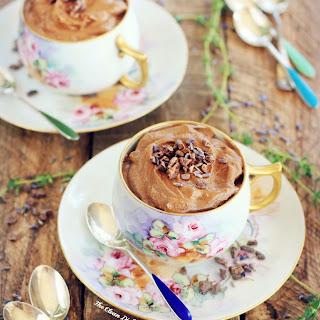 Baileys Mousse au Chocolat {vegan, grain free, gluten free, refined sugar free}