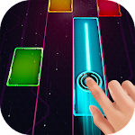 Music Piano - Glow Tiles , over 260 songs in space Icon