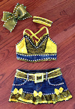 Photo: To buy (Aspire-What I like about you ) email me at Pam@act2dancecostumes.com Custom Made! $150.00 Size Small Child (6/7) Qty (1) One Shipping $10 plus 3%paypal fee to US. International shipping please email full address for quote. Returns within 7 days of receipt in same condition.