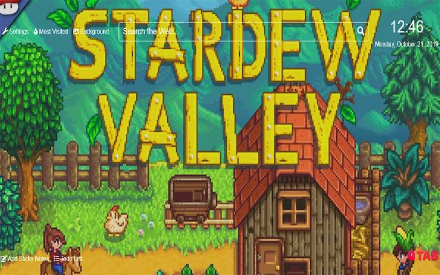 StardewValleyWallpapersNewTabTheme