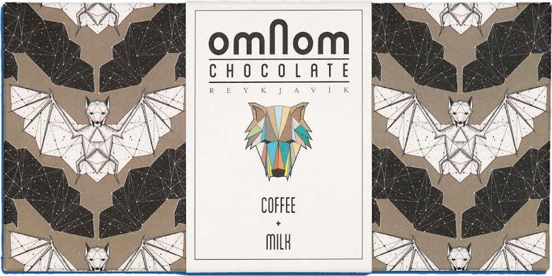 Vit choklad, kaffe, mjölk – Omnom Chocolate