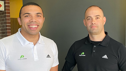 Paymenow co-founders Brian Habana (left) and Deon Nobrega.