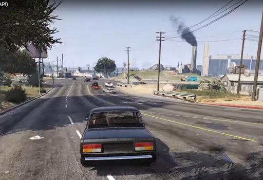 ВАЗ Симулятор Вождения - Вождение Автомобиля APK MOD screenshots 2