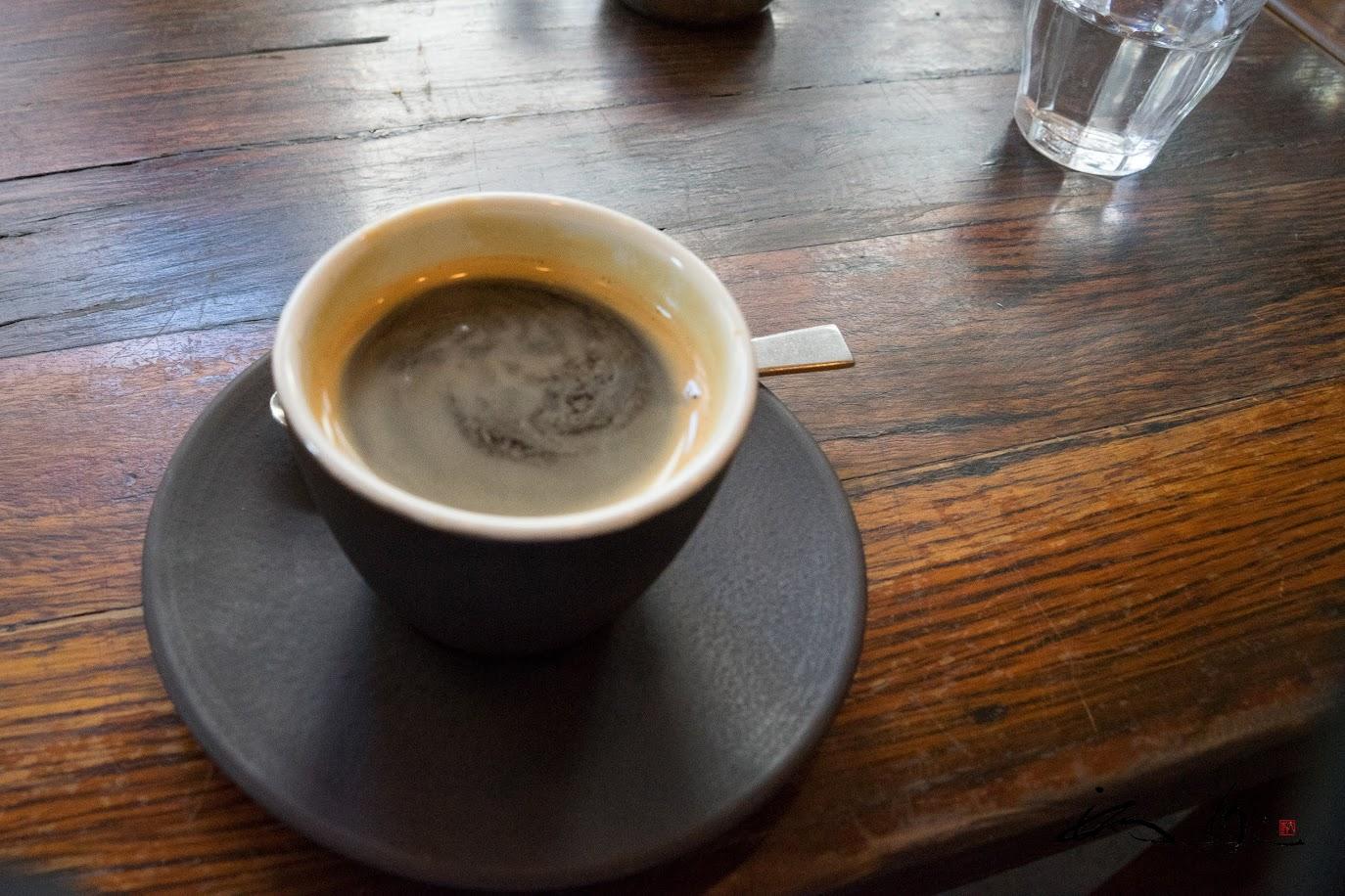 至福のコーヒーを味わって。。。