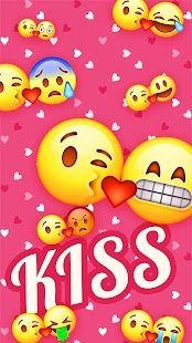 Kiss Keyboard Sticker - náhled