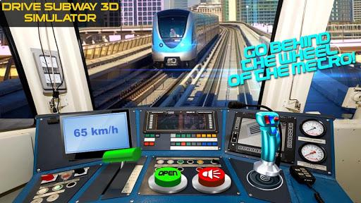지하철 3D 시뮬레이터를 운전