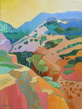 Photo: Black Diamond Canyon, oil on canvas by Nancy Roberts, copyright 2014. Private collection.
