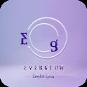 Everglow Lyrics (Offline) icon