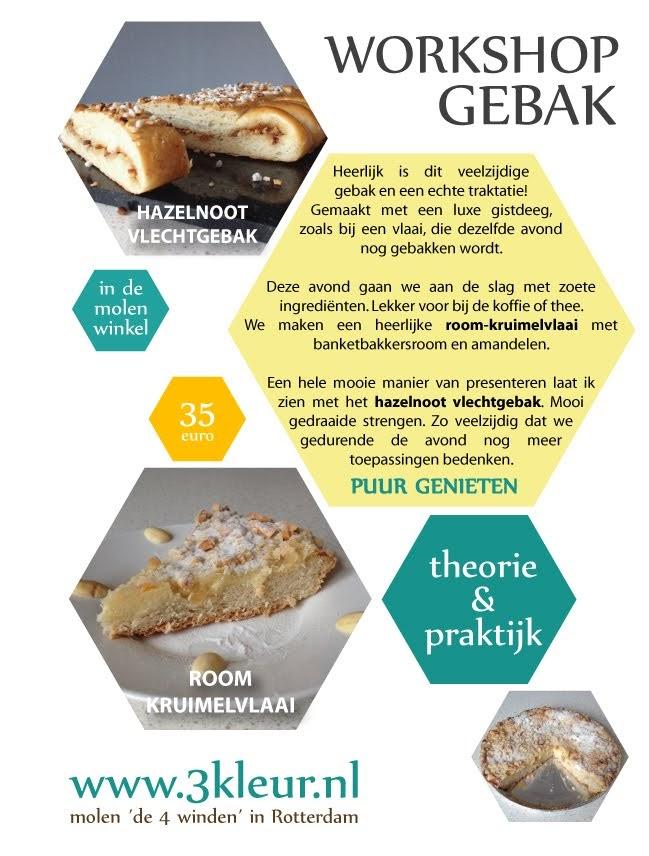 Poster workshop : gebak