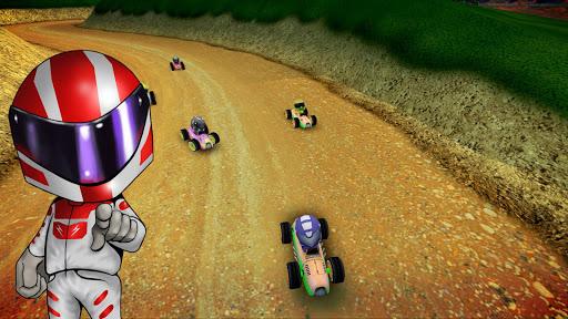 Rush Kart Racing 3D  gameplay | by HackJr.Pw 17