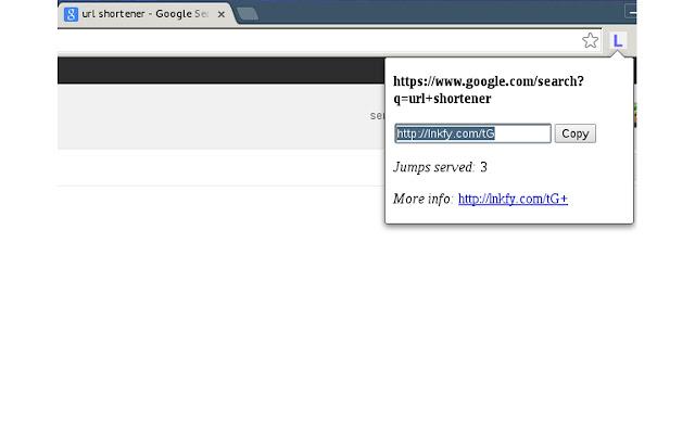 Lnkfy.com url shortener