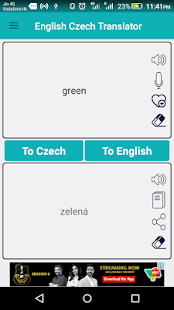 English Czech Translator apk screenshot 2