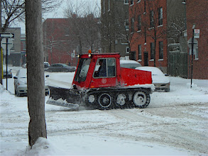 Photo: Mini Snow Plough (for clearing side-walks)