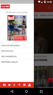 Paris Match Actu- screenshot thumbnail