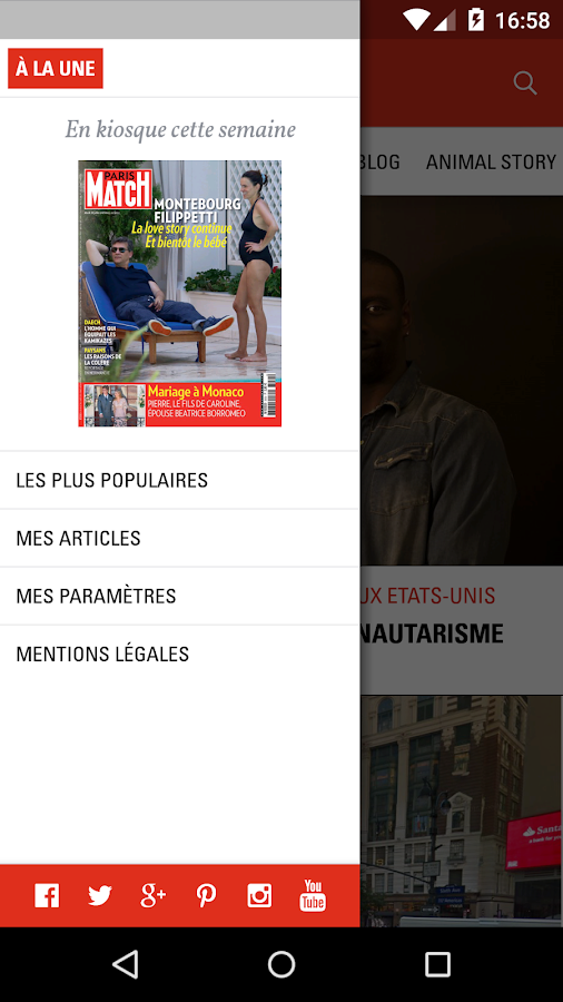 Paris Match Actu- screenshot