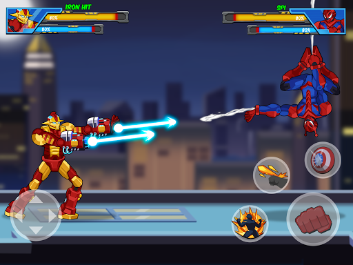 Robot Super: Hero Champions 1.0.8 screenshots 6
