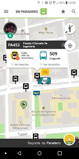 TranSapp: Metro y buses de transantiago screenshots 1