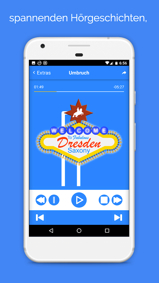 Audioguide Dresden Neustadt – Screenshot