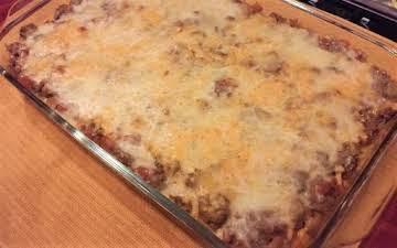 Ultimate Spaghetti Casserole