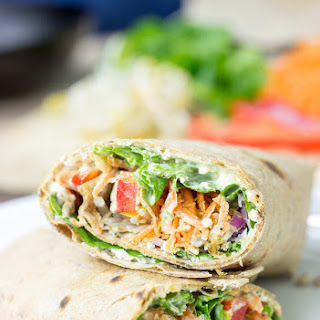 Tangy Veggie Wrap - For The Ultimate Picnic.