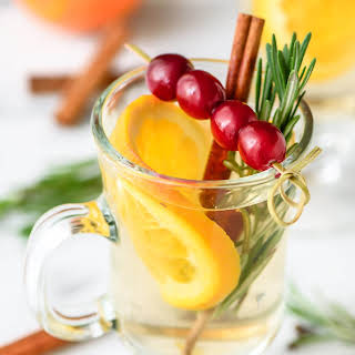 Slow Cooker White Spiced Wine.