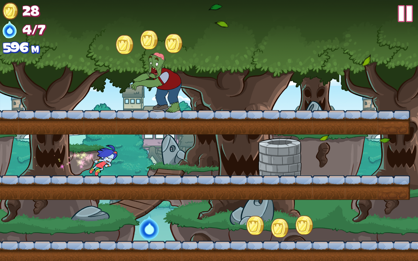 Frombie Run- screenshot