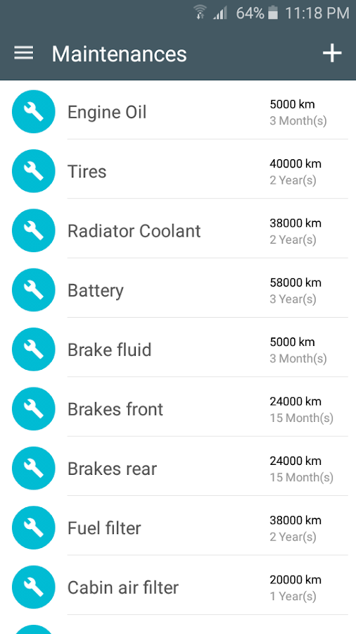 YeikCar - Car management- screenshot