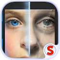 Face scanner: What age icon