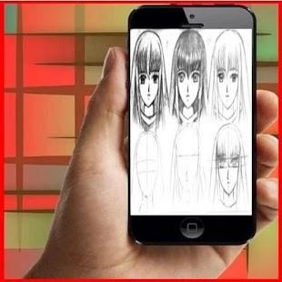 Tutorial Drawing Anime for PC-Windows 7,8,10 and Mac apk screenshot 3