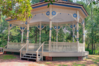 Photo: Williams Park Bandstand. Pic from Heritage Village Photo Collection.