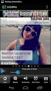 SXSWfm®- screenshot thumbnail